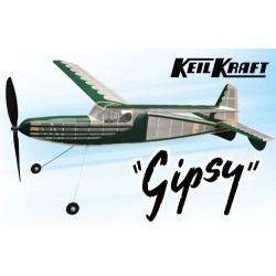 Keil Kraft Gipsy Kit - 40in Free-Flight Rubber Duration (A-KK2050)