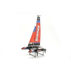 Joysway Binary Catamaran Sail  Yacht RTR - Red (B-JS-8807R)