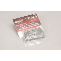 Great Planes T-Pins (Steel) - 1-1/2in/38mm(Pk100) (F-HCAR5200)