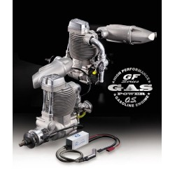 O.S. GF30 II Petrol with F-6040 Silencer (L-OS3A010)