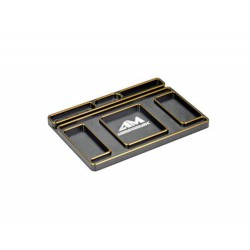 Arrowmax Alloy Tray for Set-Up System Black Golden (AM174003)