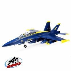 E-FLITE F-18 Blue Angels 80mm EDF BNF Basic (F18)(A-EFL13950)