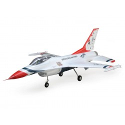 E-Flite F-16 Thunderbirds 70mm EDF Jet BNF Basic (A-EFL7850)