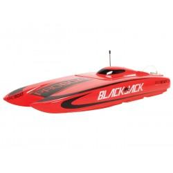 ProBoat Blackjack 24-inch Catamaran BL: RTR (B-PRB08007C)