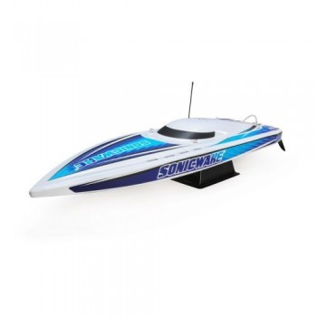 ProBoat Sonicwake 36in Self-Righting Brushless Deep-V White (B-PRB08032T1)