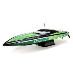ProBoat Sonicwake 36in Self-Righting Brushless Deep-V Black (B-PRB08032T2)