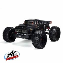 ARRMA NOTORIOUS 1/8 6S BLX 4WD STUNT TRUCK V5 RTR BLACK (C-ARA8611V5T1)