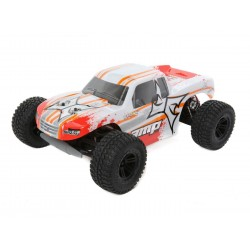 ECX AMP MT 1:10 2WD Monster Truck:White/Orange RTR INT (C-ECX03028IT1)