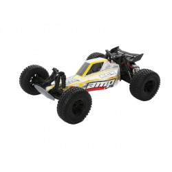 ECX AMP DB 1:10 2WD Desert Buggy: White/Red RTR INT (C-ECX03029IT2)