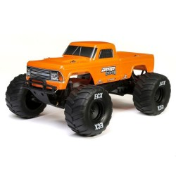 ECX 1/10 AMP CRUSH MT 2WD: Orange RTR INTL (C-ECX03048IT2)