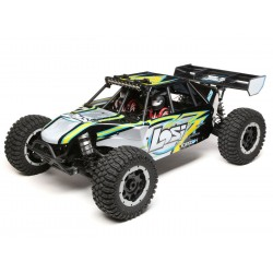 Desert Buggy XL-E:1/5th 4WD Elec RTR Black/Yellow (C-LOS05012T1)