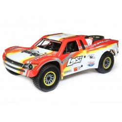 SuperBajaRey:1/6 4wd Electric Desert Truck RTR-RED (C-LOS05013T2)