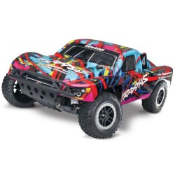 Traxxas Nitro Slash 3.3 TSM 1/10 2WD (TQ/EZ Start) - Hawaiian (C-TRX44056-3-HWN)