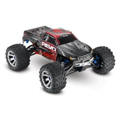 Traxxas Revo 3.3 w/Rev TSM 4WD (TQi Bluetooth/EZ Start) - Red (C-TRX53097-3-RED)