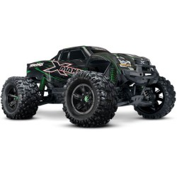 Traxxas X-Maxx 1/7 4WD 8S (VXL-8S/TQi/No Batt/No Chg) - Green (C-TRX77086-4-GRN)