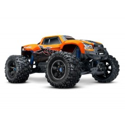 Traxxas X-Maxx 1/7 4WD 8S (VXL-8S/TQi/No Batt/No Chg) - Orange X (C-TRX77086-4-ORNGX)