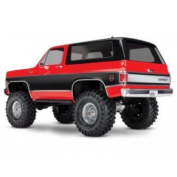 Traxxas TRX-4 Crawler 1979 Chevrolet Blazer (TQi/No Batt/No Chg) Red (C-TRX82076-4-RED)