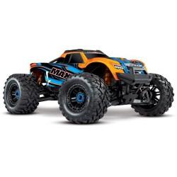 TRAXXAS Maxx 1/10 4WD VXL Orange w/LED (C-TRX89076-4-OFD)