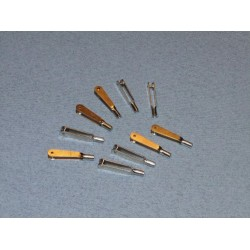 M2 Metal Clevis (pk10)