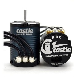 Castle Creations MOTOR  4-POLE SENSORED BRUSHLESS  1406-2850kV (M-CC060-0070-00)