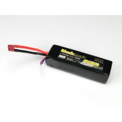 Black Magic 8400mAh-á11.1V 3S 30C  Semi Hard Deans Connector (O-BM30-8403T)