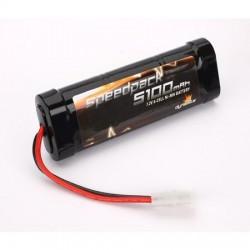 Speedpack 5100mAh NiMH 6-Cell Flat (O-DYN1090)