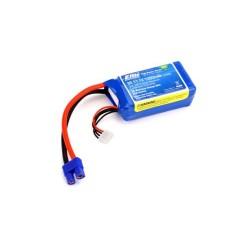 E-Flite 1350mAh 3S 11.1V 30C LiPo 13AWG EC3 (O-EFLB13503S30)
