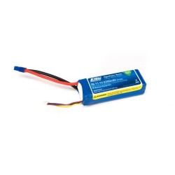 E-Flite 2200mAh 3S 11.1V 50C LiPo, 13AWG EC3 (O-EFLB22003S50)
