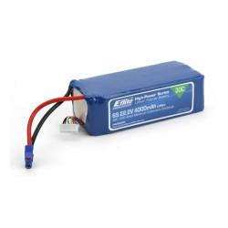 4000mAh 6S 22.2V 30C LiPo, 12AWG EC3 (O-EFLB40006S30)