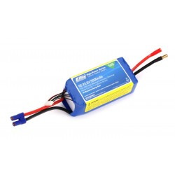 E-Flite 5000mAh 6S 22.2V 50C LiPo, 10AWG EC5 (O-EFLB50006S50)