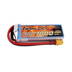 Gens Ace Li-Po 5S 18.5V 1800mAh 45C with XT60 (O-G5S1800-45X6)