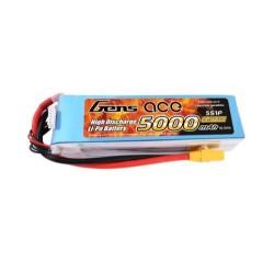Gens Ace Li-Po 5S 18.5V 5000mAh 60C with XT90 (O-G5S5000-60X9)