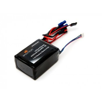 Spektrum 4000mAh 2S 7.4V LiPo Receiver Battery (O-SPMB4000LPRX)