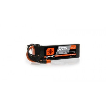 Spektrum 3200mAh 6S 22.2V 100C Smart LiPo Battery IC3 (O-SPMX32006S100)