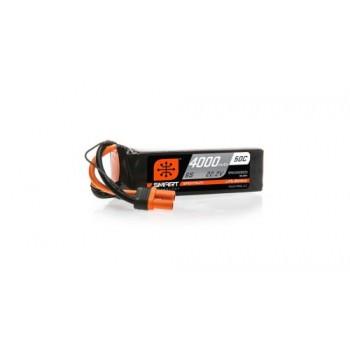 Spektrum 4000mAh 6S 22.2V 50C Smart LiPo Battery IC5 (O-SPMX40006S50)