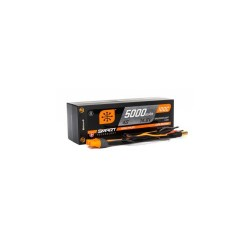 SPEKTRUM 5000mAh 4S 14.8V 100C Smart LiPo Short; 5mm Tubes (O-SPMX50004S100HT)