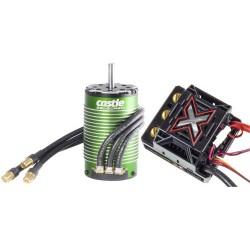 Castle Creations Monster X 25.2V ESC  8A  BEC W/1515-2200kV Sensored (P-CC010-0145-03)