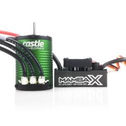 Castle Creations Mamba X   Sensored  25.2V WP Esc and 1406-6900kV Combo (P-CC010-0155-03)