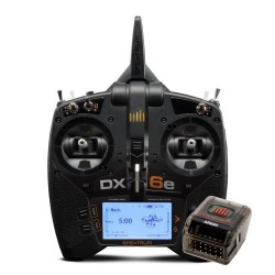 SPEKTRUM  DX6e Combo 6CH with AR620 (P-SPM6655EU)