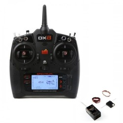 Spektrum DX8 G2 COMBO System with AR8010T Rx Mode 2 (P-SPM8015EU) with Battery and Charger