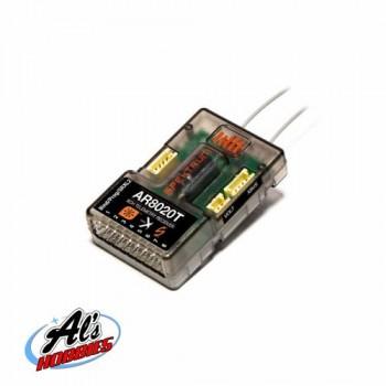 SPEKTRUM AR8020T 8 Channel Telemetry Receiver (P-SPMAR8020T)