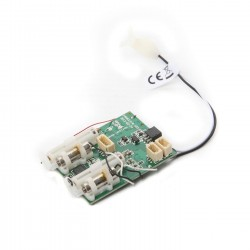 Spektrum AS6410L DSMX 6-Ch Ultra Micro AS3X Receiver/ESC (P-SPMAS6410L)