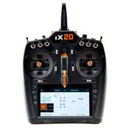 SPEKTRUM iX20 Transmitter Only 20-Channel DSMX Black (P-SPMR20100EU)