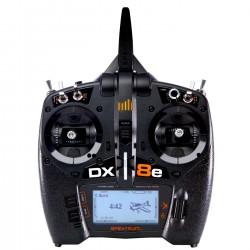 SPEKTRUM DX8e Transmitter Only 8-Channel EU (P-SPMR8100EU) with Battery and Charger