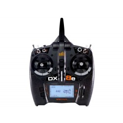 SPEKTRUM DX8e Transmitter only 8-channel (P-SPMR8105EU) with AA Batteries