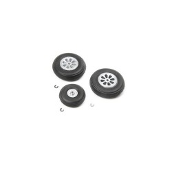 E-FLITE Wheel Set: HAVOC Xe 80mm EDF Sport Jet (Z-EFL7582)