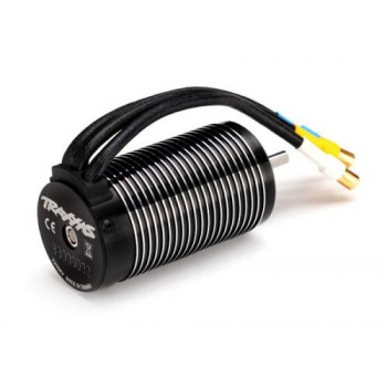 TRAXXAS Motor, 2200Kv 75mm, brushless(6.5mm gold-plated connectors & - (Z-TRX3376)